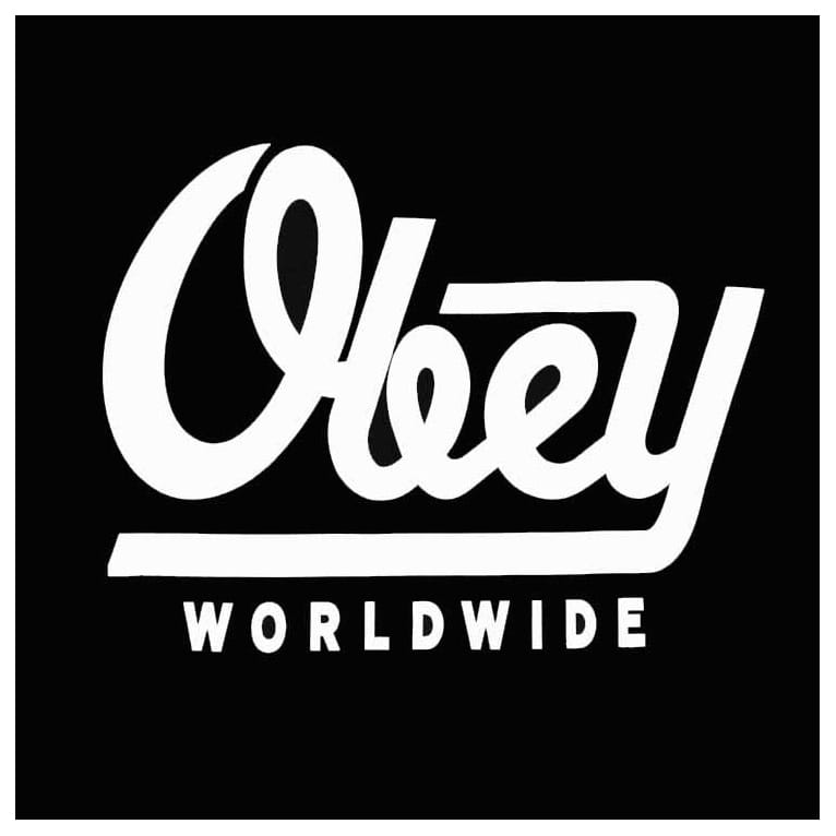 Obey LE Worldwide Tee Black