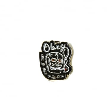 Life Is Hell Pin