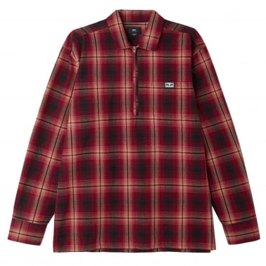 Loose Moves Shirt - Burgundy