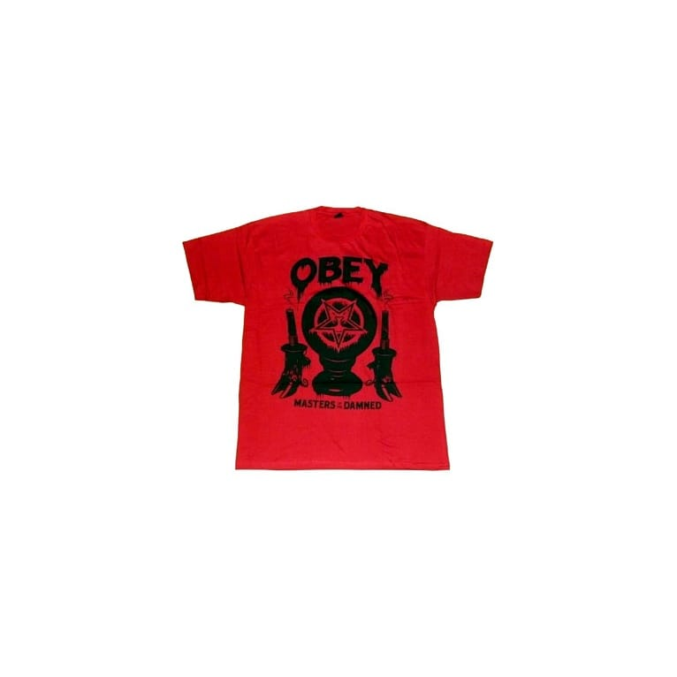 Obey Master Tee Red