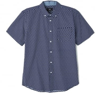 Medina Short Sleeve Shirt - Blue