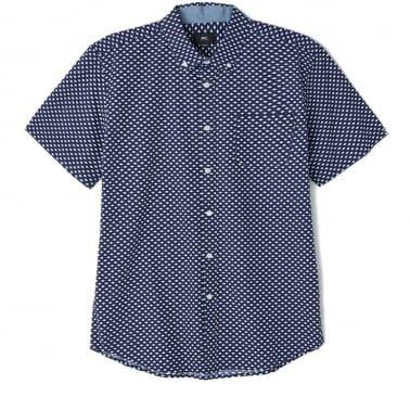 Medina Short Sleeve Shirt - Blue