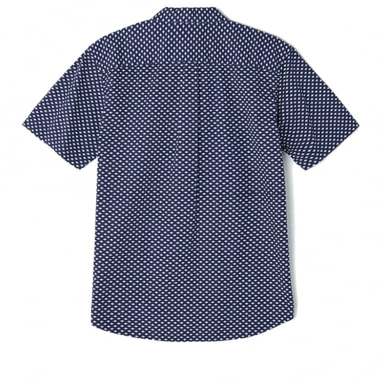 Obey Medina Short Sleeve Shirt - Blue