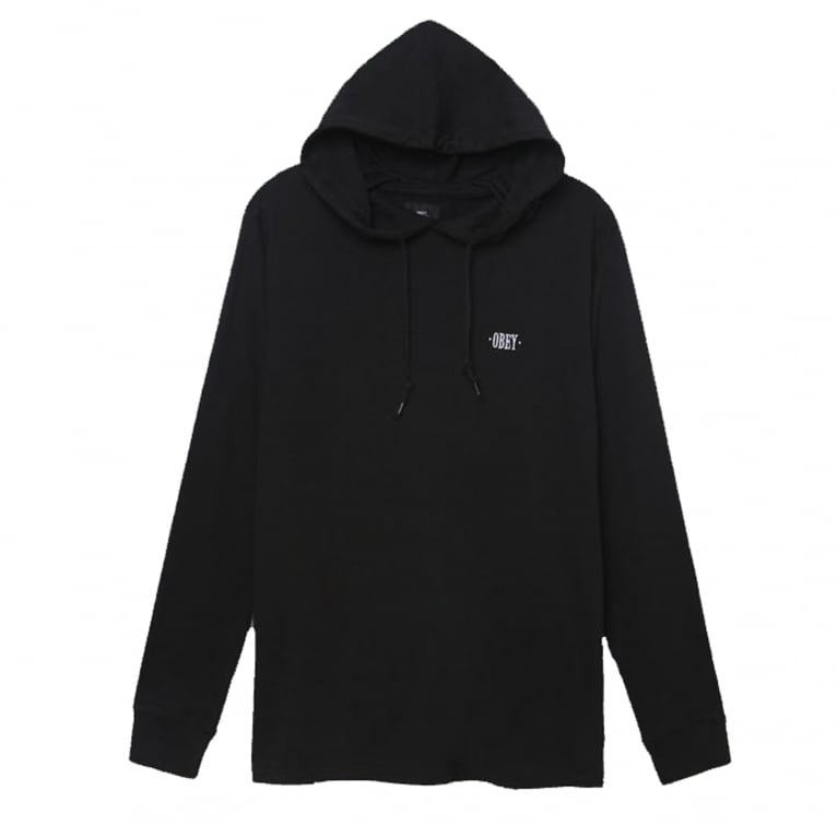 Obey Metier Long Sleeve Hooded T-Shirt