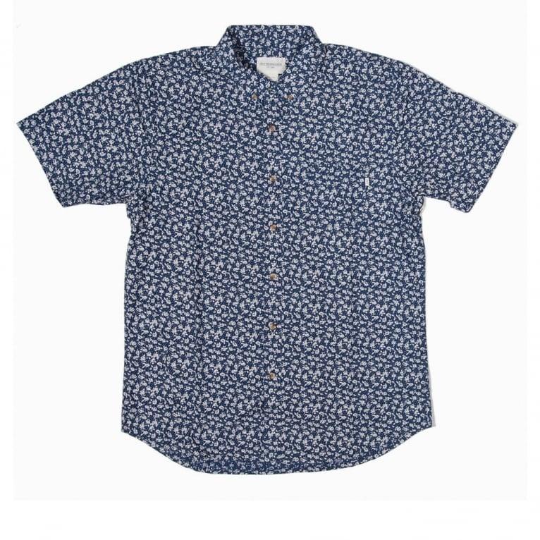 Obey Nouveau Shirt Indigo