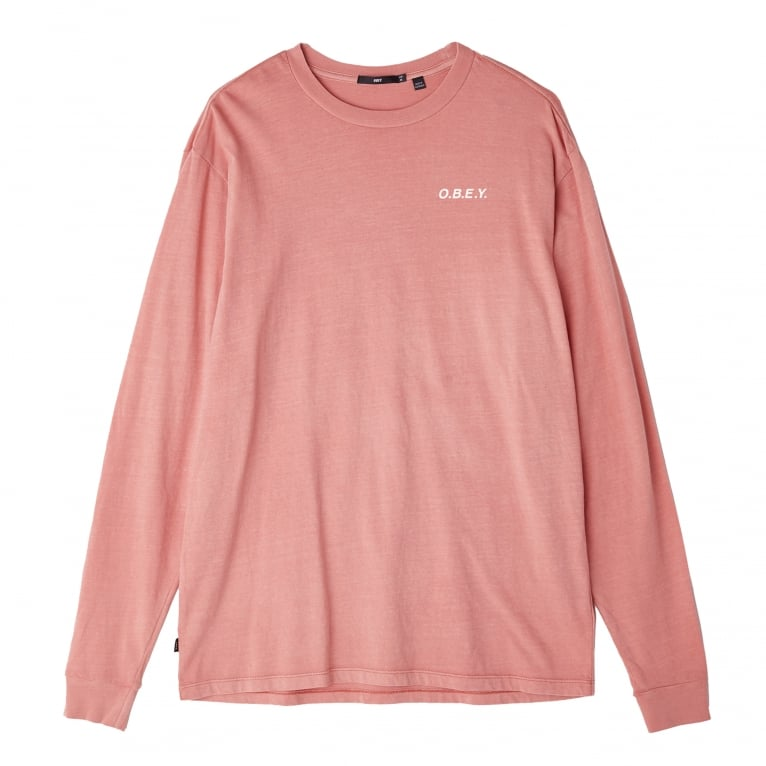 Obey O.B.E.Y. Long Sleeve T-Shirt
