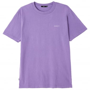 O.B.E.Y T-Shirt - Dusty Purple