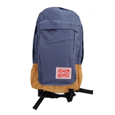 Obey Commuter Pack Navy/gold