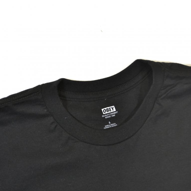 Obey Paint It Black Tee - Black