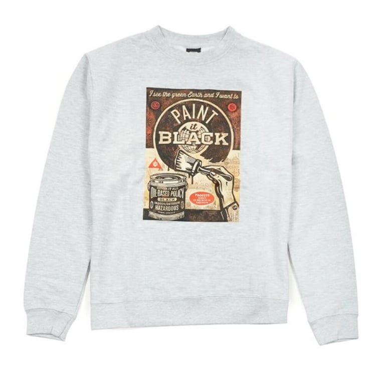 Obey Paint It Crew - Heather Grey