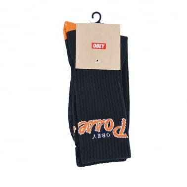 Posse Socks Black/Orange