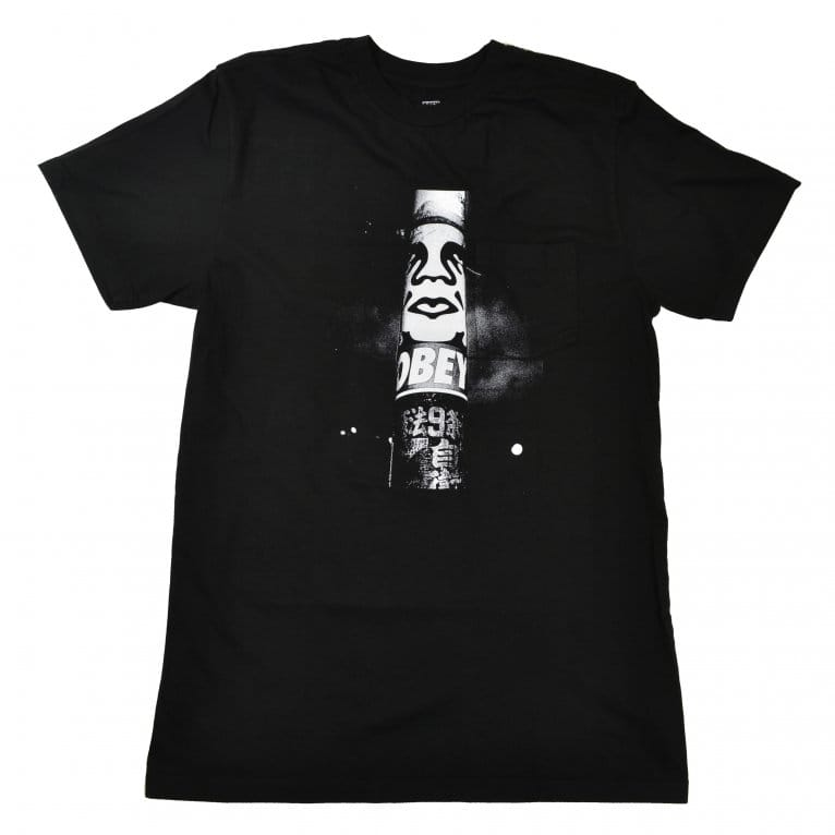 Obey Poster Photo Tee - Black
