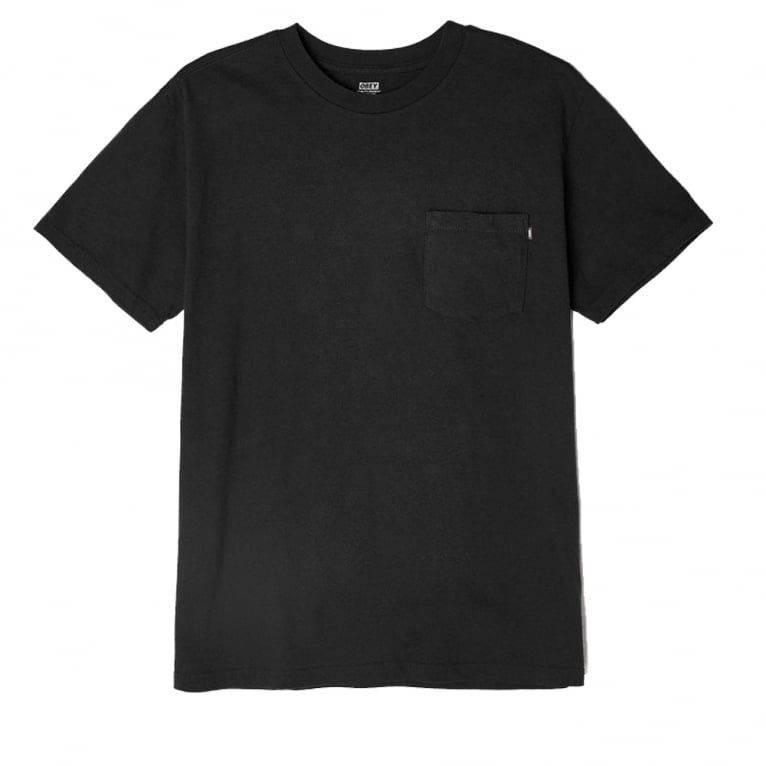 Obey Premium Basic Pocket Tee Black