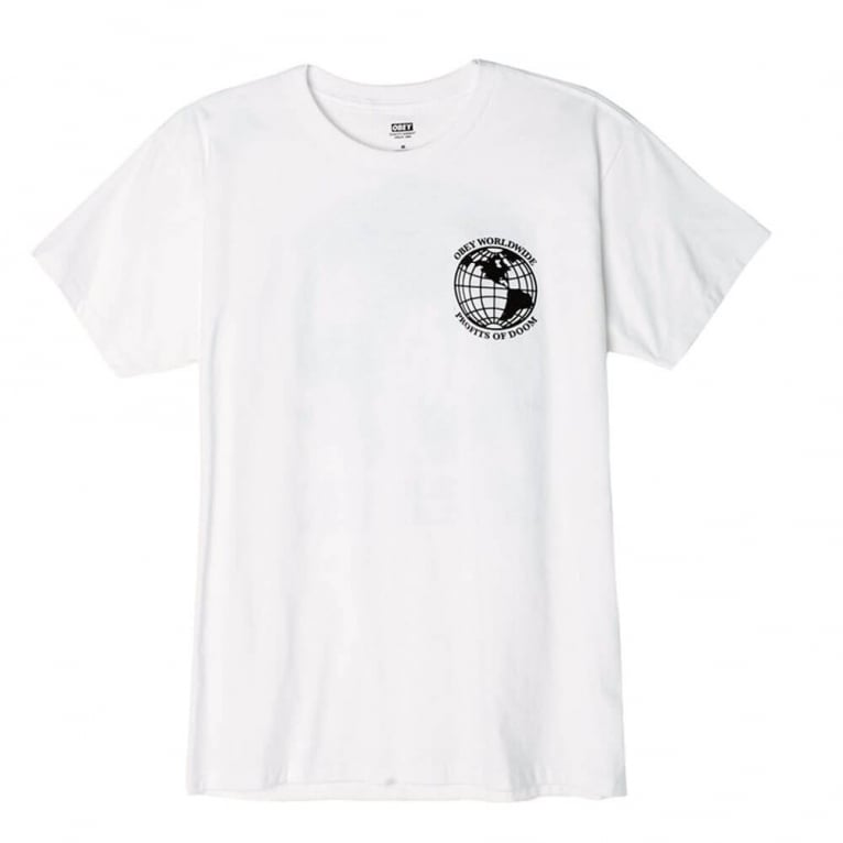Obey Profits Of Doom Tee - White