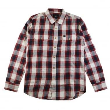 Ridley Long Sleeve Shirt - Navy