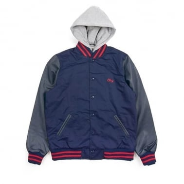 Rival Jacket Navy/Red