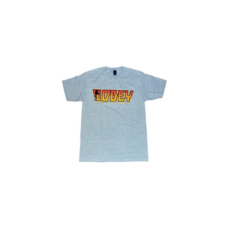 Obey Rock T-shirt - Heather Grey