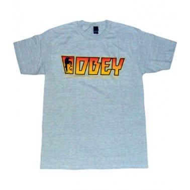 Rock T-shirt - Heather Grey