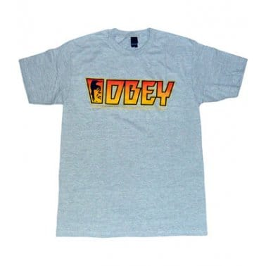 Rock T-shirt - Heather Grey