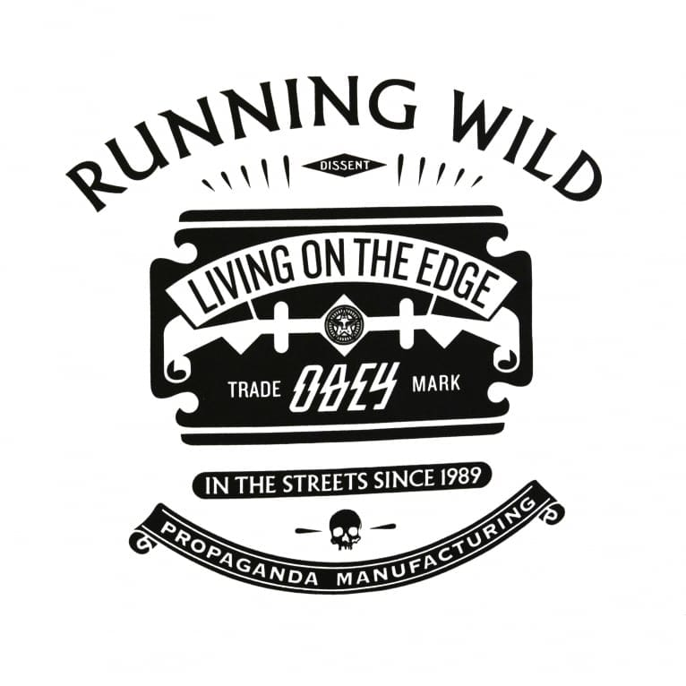 Obey Running Wild T-Shirt