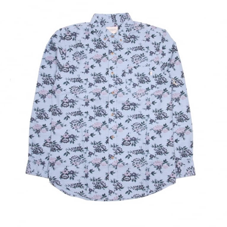 Obey Shelly LS Shirt Light Blue