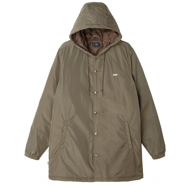 Obey Singford Jacket - Dusty Army