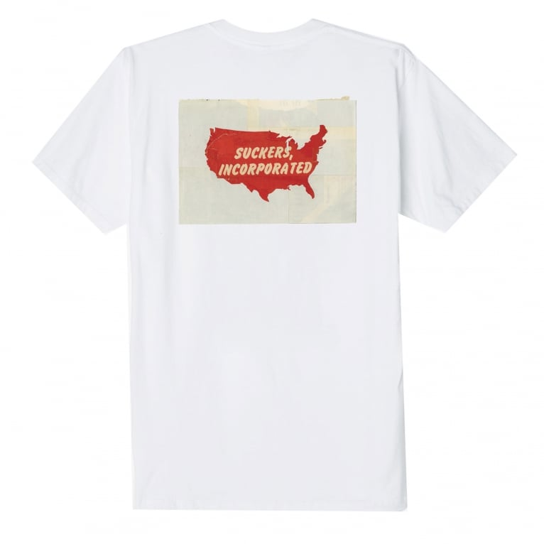 Obey Sucker Incorporated T-Shirt - White