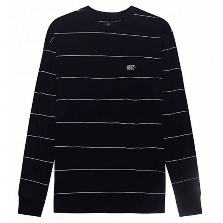 Obey Sutton Long Sleeve T-Shirt