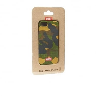 Textile Iphone 5 Case Blotch Camo