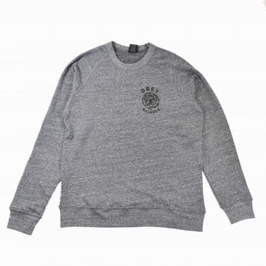 Tiger Crew - Heather Grey