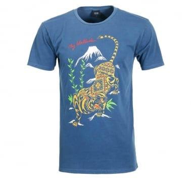 Tiger Style T-shirt - Dark Denim