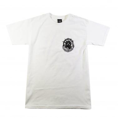 Trouble Breathing Basic T-Shirt - White
