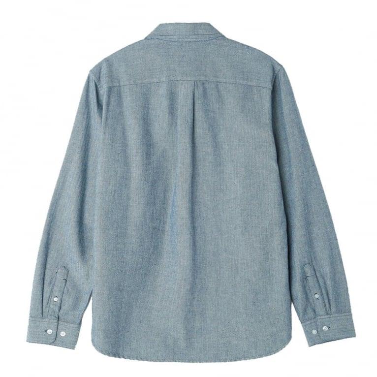 Obey Wiseman Shirt - Navy Multi