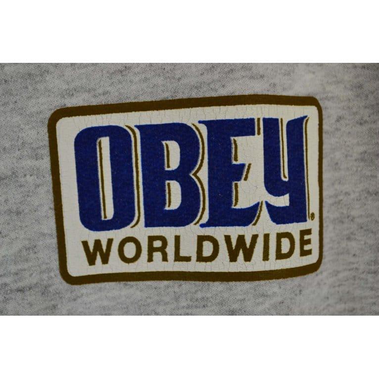 Obey Worldwide Posse Crew Ash Heather