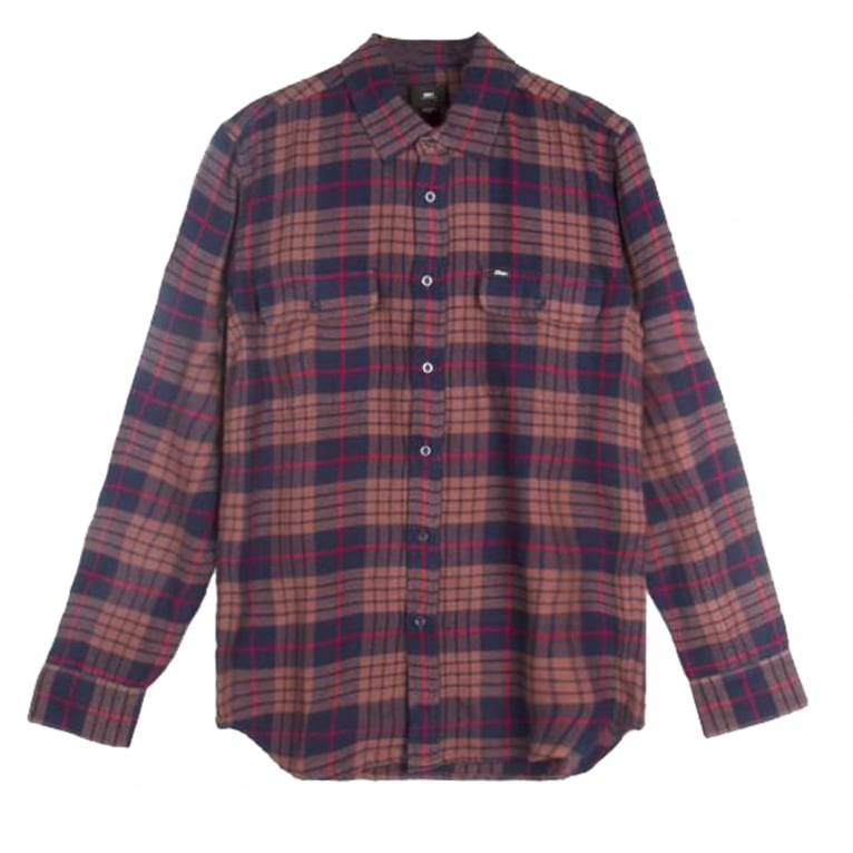 Obey Wyatt Shirt - Navy/Multi