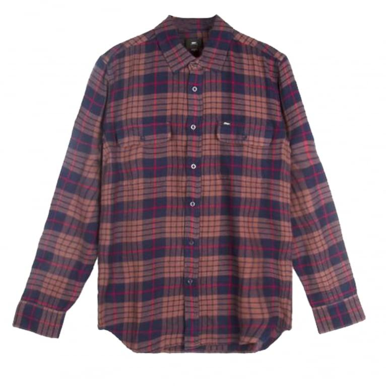 Obey Wyatt Shirt - Navy/Multi