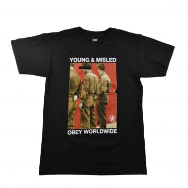 Young & Misled T-Shirt - Black