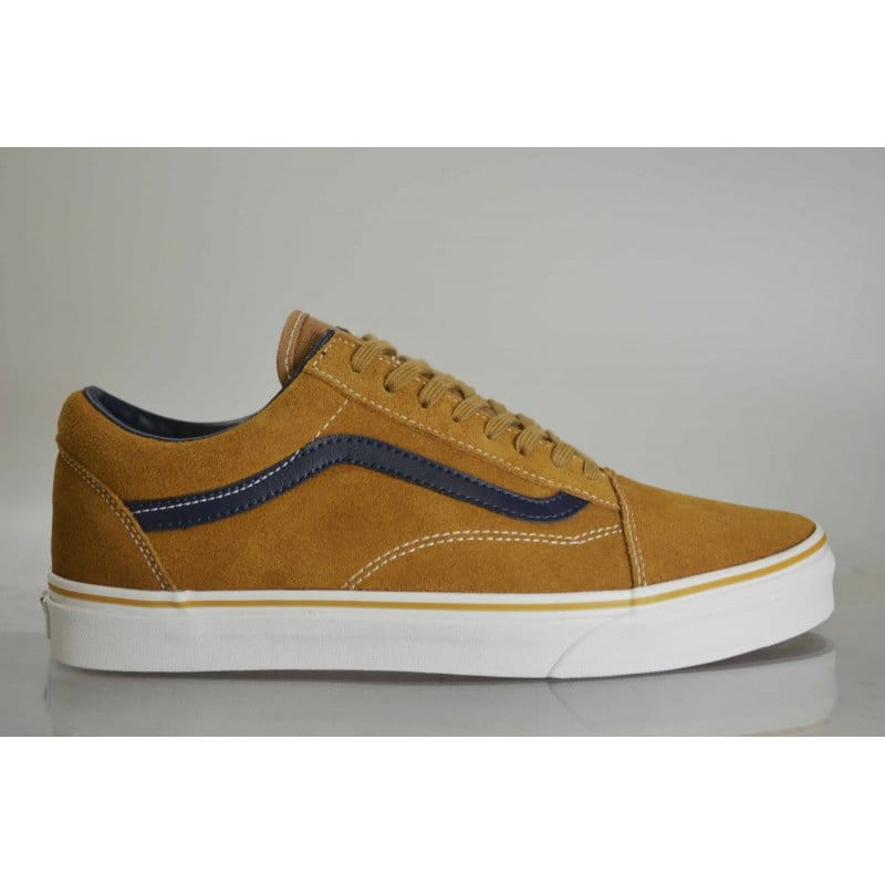 Vans Old Skool Leather suede Brown Sugar  9d913e6a609f