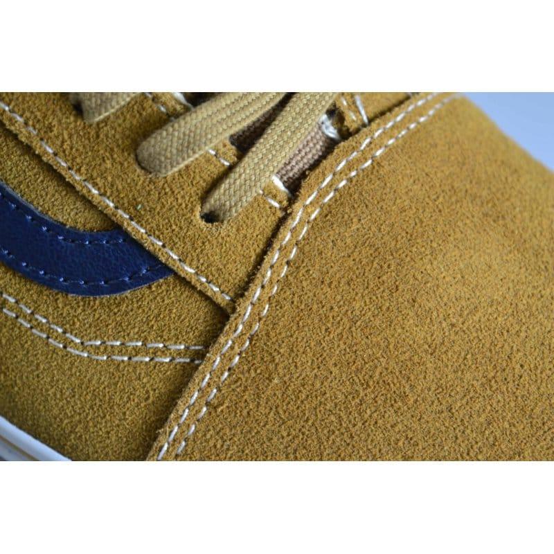 1dfa6b21f16de7 Vans Old Skool Leather suede Brown Sugar