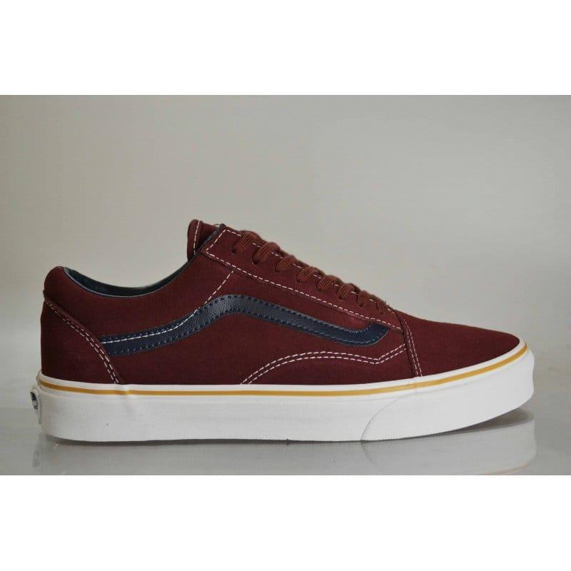 d3143d9ad6 Vans Old Skool Leather suede Oxblood Red
