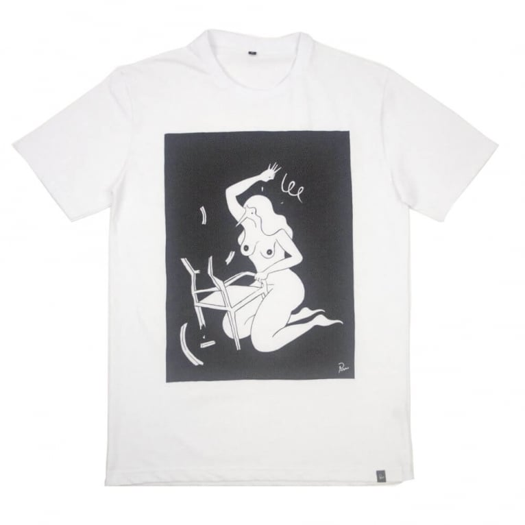 Parra Bad Chair Tee - White