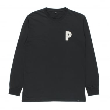 Claim The P Long Sleeve T-Shirt - Black