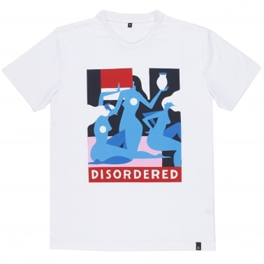 Disordered T-Shirt - White