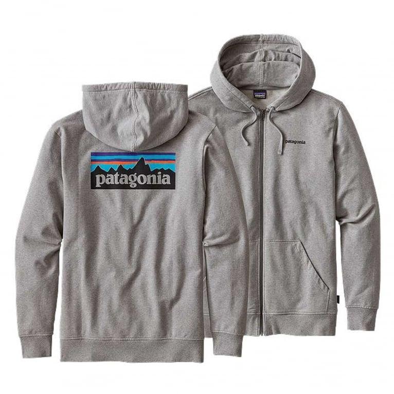 Patagonia P-6 Logo Midweight Full-Zip Hoody