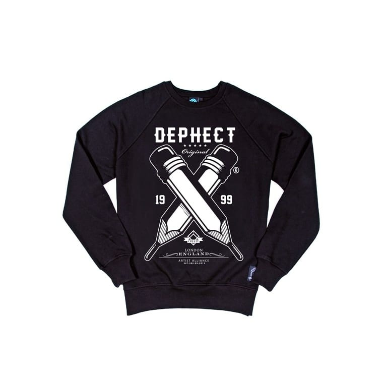 Dephect Pencils Sweat Black