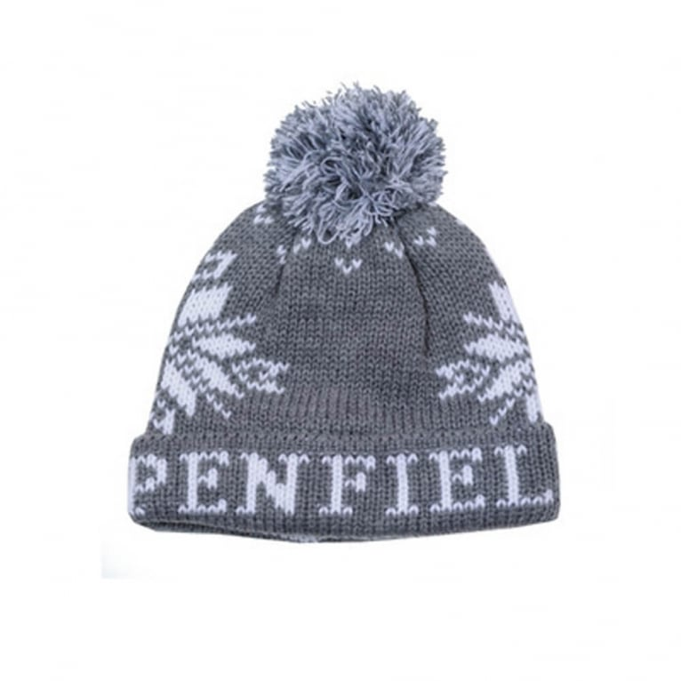 Penfield Dumont Beanie - Grey/White