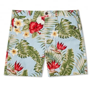 Gill Short Palm Blue