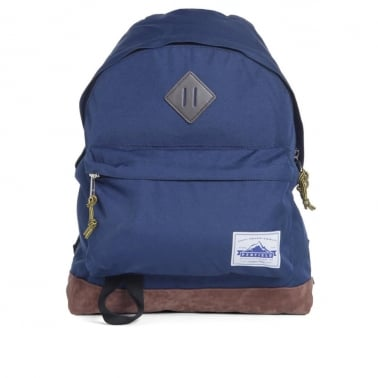Marbleton Backpack - Navy/Brown