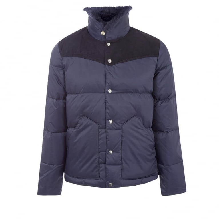 Penfield Rockwool Down Jacket - Navy