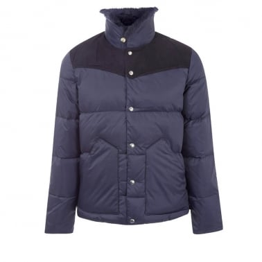 Rockwool Down Jacket - Navy